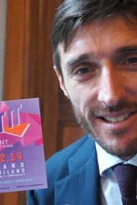 Mario Palmisano, il canottiere del Naviglio da battere a Beat it 2014