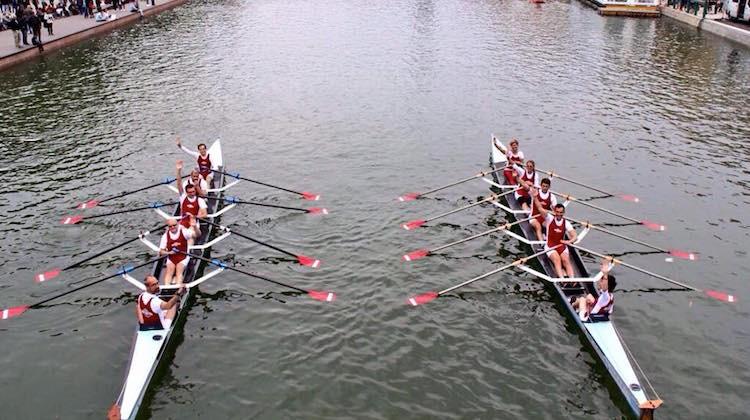 ReMI VEri, 10 canottieri in barca dal Naviglio Grande a Venezia